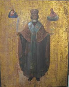 Икона Св. Николая промзинская. ( находится в Николском приделе с.Маколово)