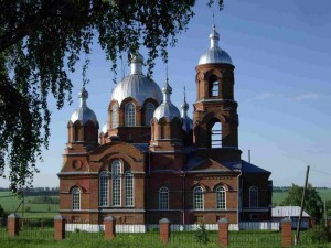 вид храма с северной стороны